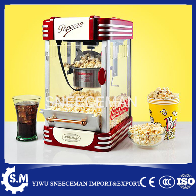 Electric mini popcorn machine home use popcorn making machine for sale pop 08 commercial electric popcorn machine popcorn maker for coffee shop popcorn making machine