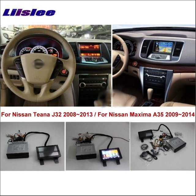 Liislee For Nissan Teana J32 / Maxima A35 2008~2014 Car ...