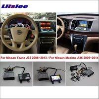 Liislee Per Nissan Teana J32/Maxima A35 2008 ~ 2014 Car DVD lettore Sistema di Navigazione GPS + BT USB AUX HD Touch Screen Multimedia