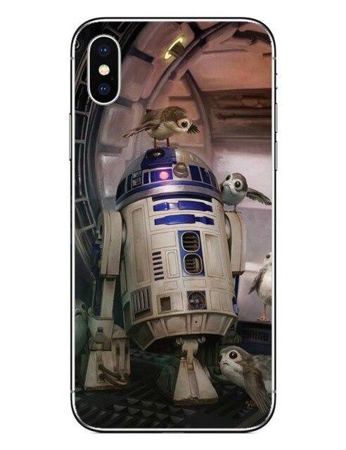 Phone Case Star Wars The Last Jedi Porgs Hard Cover For