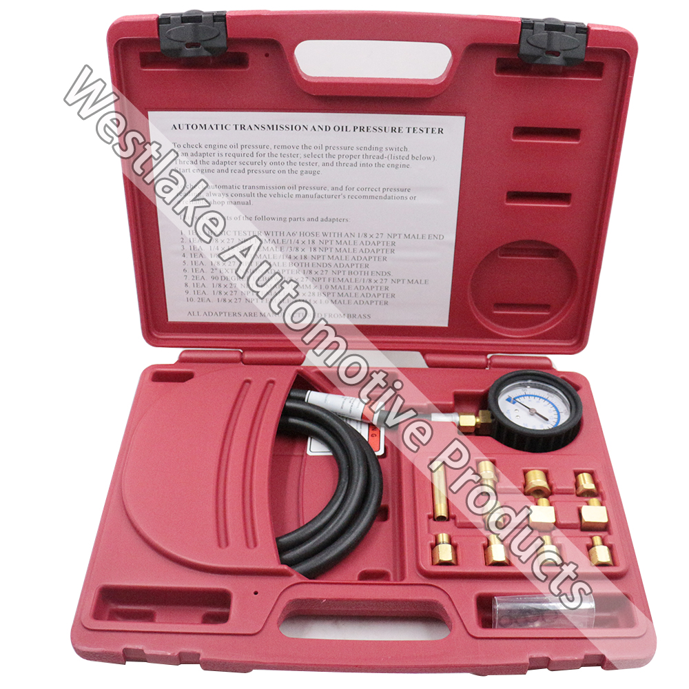 ФОТО Automatic Transmission And Oil Pressure Tester Gauge Kit Made in Taiwan