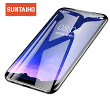 Suntaiho Tempered Glass For  MEi zu 16th plus Screen Protector Full Cover 9H Glass Film For Mei zu A5 E3 Protective glass film
