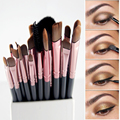 20 Unids pinceles de maquillaje Pinceles Set Polvos Sombra de Ojos Delineador de ojos Pincel de Labios Pro Herramienta de Maquillaje para el Maquillaje MC Sosmetic