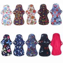 [Simfamily] 10 шт органические бамбуковые моющиеся гигиенические менструальные прокладки, гигиенические прокладки с тяжелым потоком, женские тканевые прокладки, многоразовые прокладки