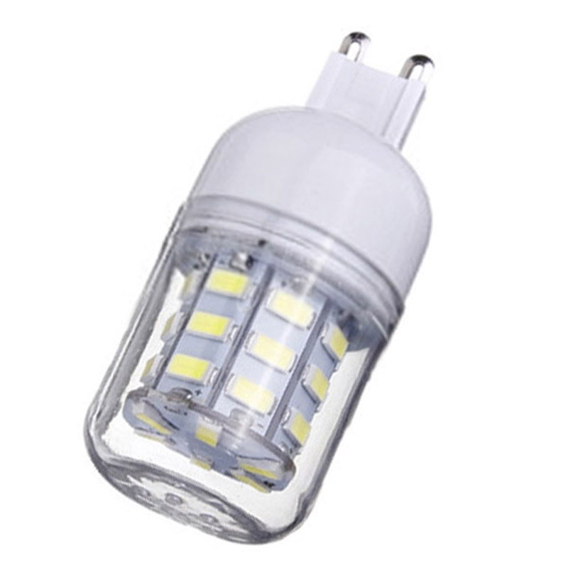 G9 Corn Bulb High Power LED 5730 SMD Light Lamp Energy Saving Color:Pure White Pack of:12 Pcs lexing lx r7s 2 5w 410lm 7000k 12 5730 smd white light project lamp beige silver ac 85 265v