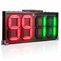 12inch-waterproof LED Football Electronic Soccer athletes or injury/stoppage time Built-in battery Referee substitution board