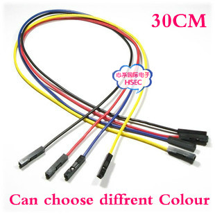 Aliexpress.com : Buy Free Shipping 30CM 1P dupont jumper wire cable ...