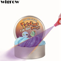 Wigrow UV Discolor Plasticene Bouncing Adult Relaxing Rubber Thinking Putty Hand Gum Play Doh Toys Funny