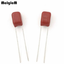 MCIGICM 1000 pcs 105 1uF 100V CBB condensatore a film di Polipropilene passo 5mm 105 1uF 100V