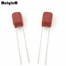 MCIGICM 1000 pièces 105 1uF 100V CBB film polypropylène pas de condensateur 5mm 105 1uF 100V