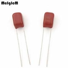 MCIGICM 1000 szt 105 1uF 100V CBB kondensator folii polipropylenowej skoku 5mm 105 1uF 100V