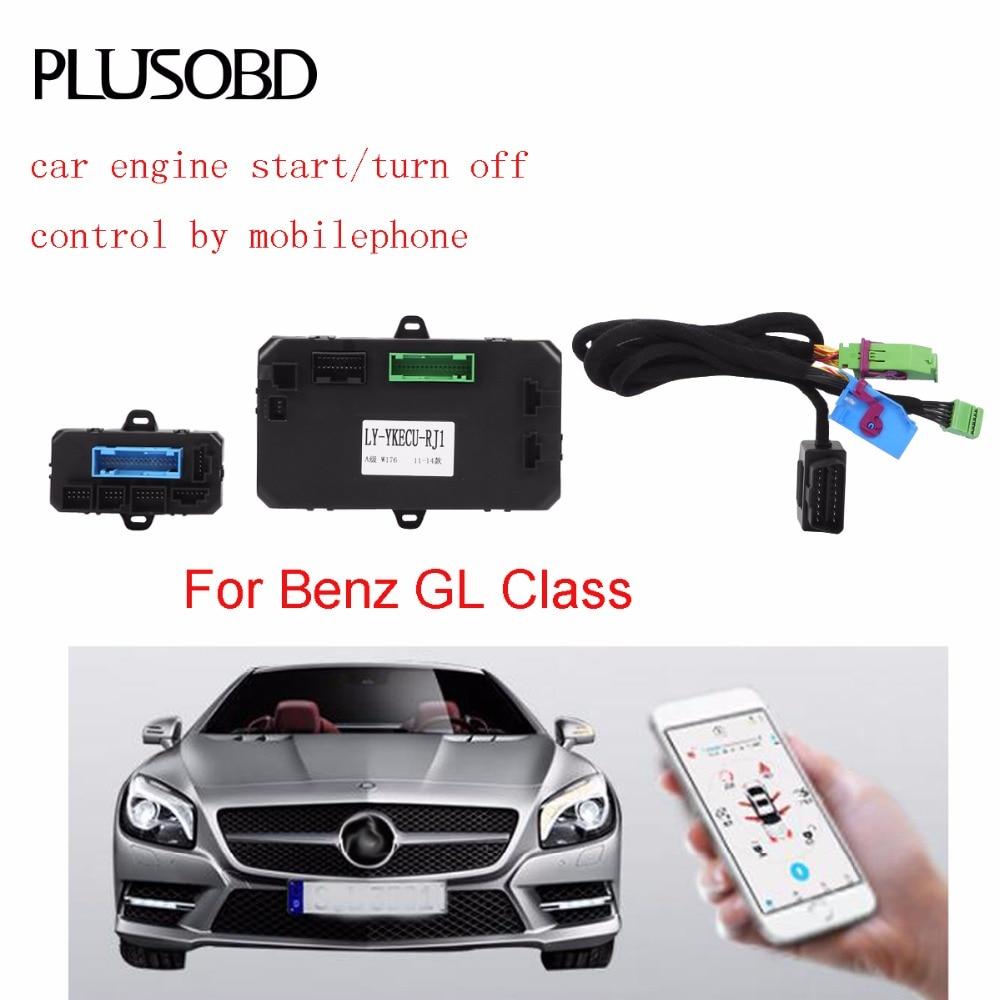 Auto motore remoto avviare/spegnere il sistema di controllo per Mercedes Benz GL (telaio X164 anno 2006-2011)