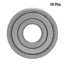10Pcs 15*42*13mm 6302-ZZ Sealing Bearing Steel Deep Groove Ball Bearing linear slide bearings Power Transmission Parts