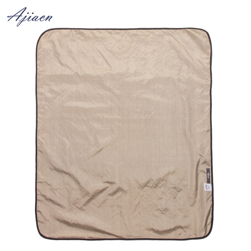 US $64 5 |Recommend WIFI and cell phone radiation protection pregnant women  apply 100% silver fiber blanket EMF shielding baby quilt-in Safety