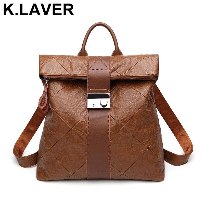 Women Leather Backpack Fashion Schoolbag Female Rucksack Back pack Girl Shoulder Bag Mochila Ladies Knapsack Travel Bags Bookbag