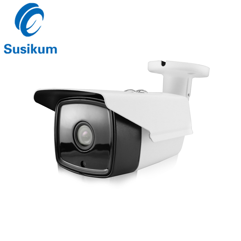 H265 Ultral Low Illumination 0.0001 Lux FULL Color Starlight Security Camera SONY <font><b>IMX291</b></font> ONVIF 1080P IP Camera IP66 Waterproof image