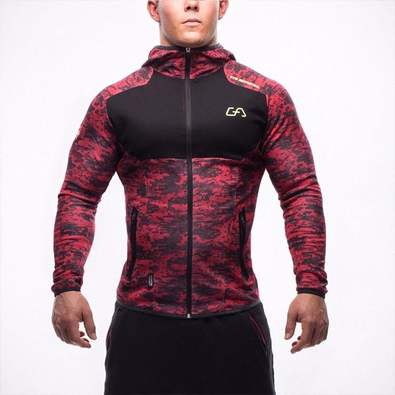 Langes schwarzes Hoodies-Sweatshirt Feece der neuen Ankunfts-freien - Herrenbekleidung - Foto 1