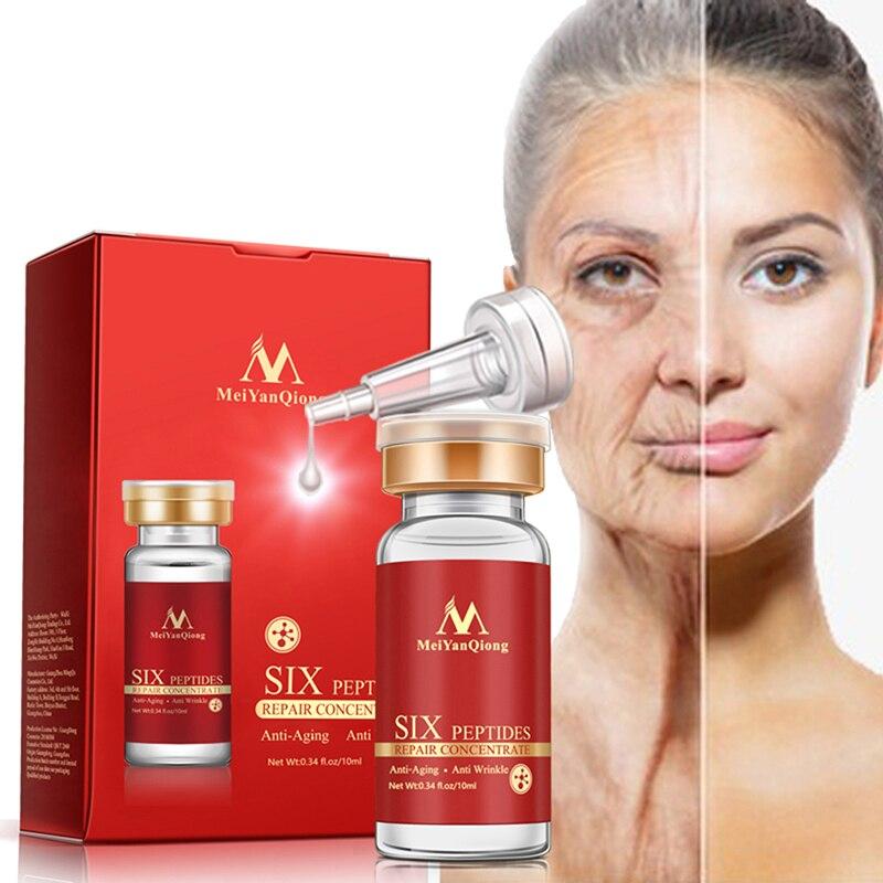 Anti-aging cream Argireline+aloe vera+collagen peptides rejuvenation anti wrinkle Serum fo