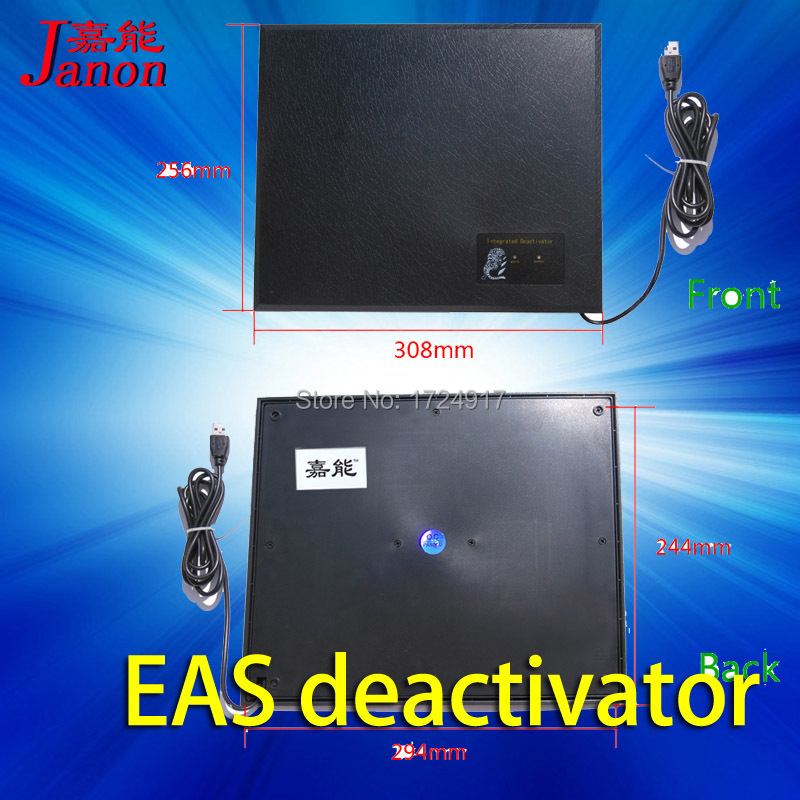 excellent EAS RF LABEL DEACTIVATOR flash and sound font b alarm b font system 8 2Mhz