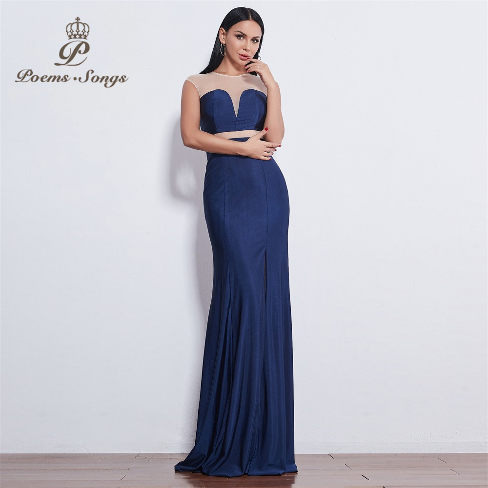 Poems Songs 2019 New style fashion beautiful candy color   dress   Luxury   Evening     Dress   prom gowns abiye elbise Formal Party   dress