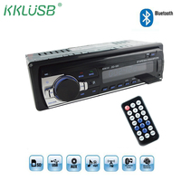1 Din 12V Bluetooth Car Radio MP3 Player Stereo FM MP3 USB SD AUX Car Audio