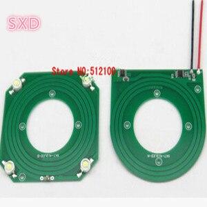 Image 2 - 10 セット/ロット PCB ワイヤレス電源モジュールワイヤレス伝送ランプモジュール XKT 412 受け入れるモジュール + 発光モジュール
