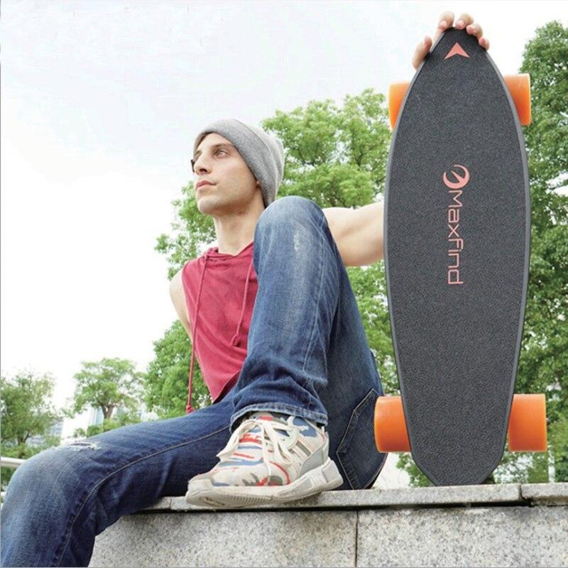 Electric Skateboard Four-wheel Longboard Skate Board Maple Deck Wireless Remote Controll Skateboard Wheels For Adult Children