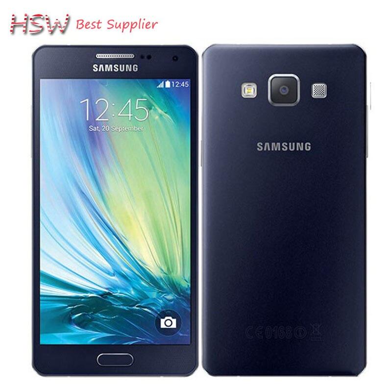 100 Original Unlocked Samsung Galaxy A5 A5000 A500F LTE Cell phones 5 0 Quad core 13MP