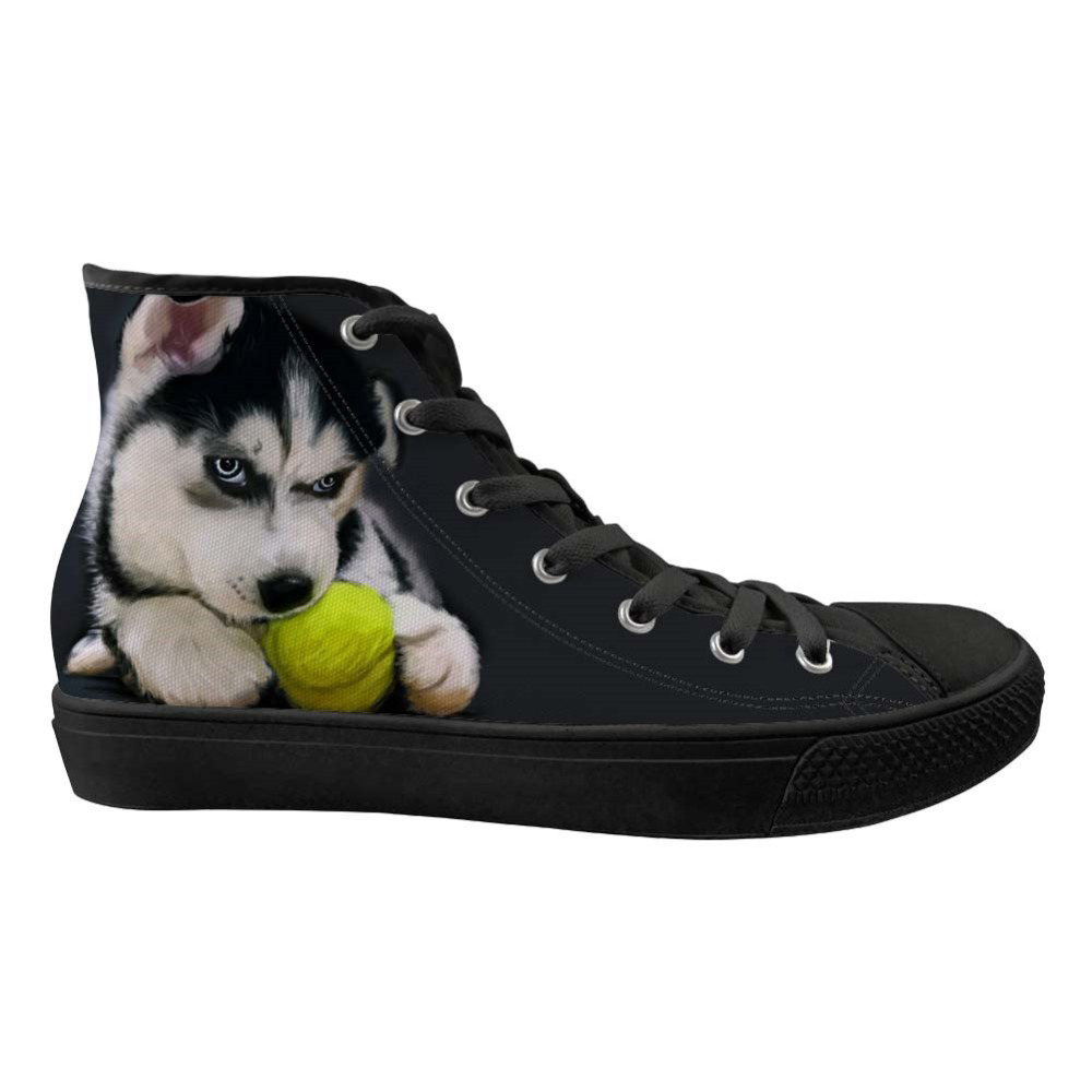 Customized Men Canvas Sneakers Cute 3D Dog Pug Print High Top Casual Shoes Mans Vulcanize Shoes Lace Up Flat Shoes Boy ZapatosCustomized Men Canvas Sneakers Cute 3D Dog Pug Print High Top Casual Shoes Mans Vulcanize Shoes Lace Up Flat Shoes Boy Zapatos
