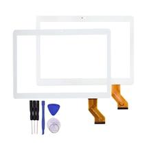 10.1 pulgadas de Pantalla Táctil para WY-CTP0001 DJ Tablet Reemplazo Sensor Panel de Vidrio Digitalizador MGLCTP-10927-10617FPC 236*166mm