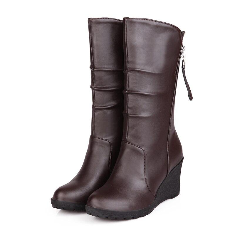 Popular Brown Wedge Heel Boots-Buy Cheap Brown Wedge Heel Boots ...