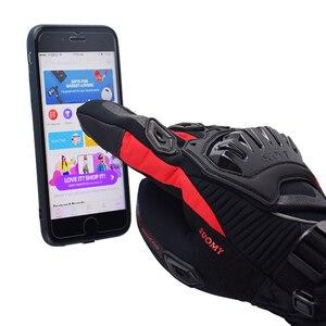 Image 5 - Suomy darmowa wysyłka zimowe ciepłe moto rcycle rękawice 100% wodoodporne wiatroszczelne Guantes rękawice motocyklowe ekran dotykowy Moto siklet Eldiveni