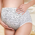Xl-xxl embarazo underwear calzoncillos de fibra de bambú ropa de altura ajustable de cintura de la ropa interior de maternidad bragas