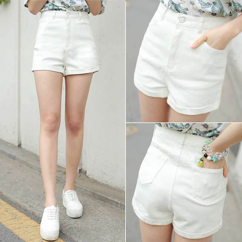 Popular White Denim Shorts-Buy Cheap White Denim Shorts lots from ...