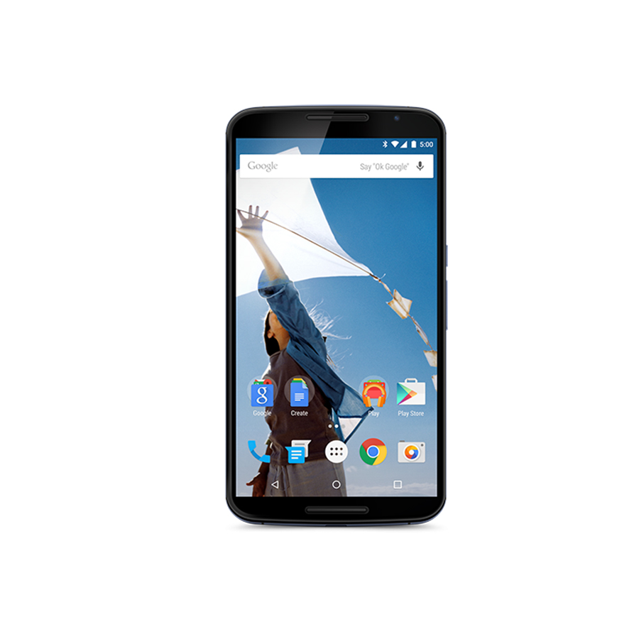 "Image 2 - Original Motorola Google Nexus 6 XT1103 XT1100 3GB RAM 32GB/64GB ROM Quad Core 4G LTE Cell Phone 5.96"" inch 13MP Refurbished-in Cellphones from Cellphones & Telecommunications"