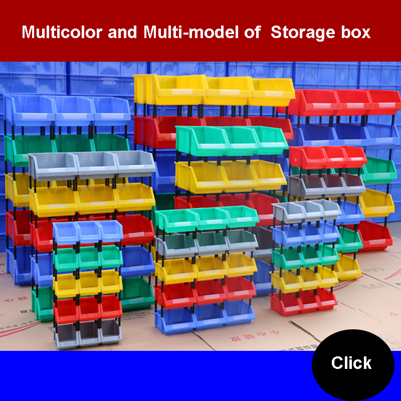 Goods Shelves Screw Part Box Combined Type Accessories Toolbox Component Finishing Case Plastic Classified Receiving Box