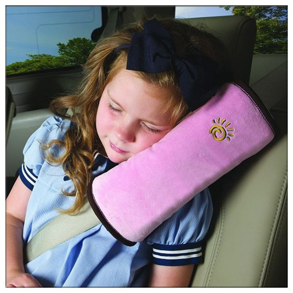 Child Car Safety Seat Belt Pillow Shoulder Strap Pad Cushions Head Supports Kids Automotive interior products