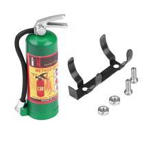 Имитация декоративного огнетушителя с наклейкой для 1/10 RC гусеничного автомобиля