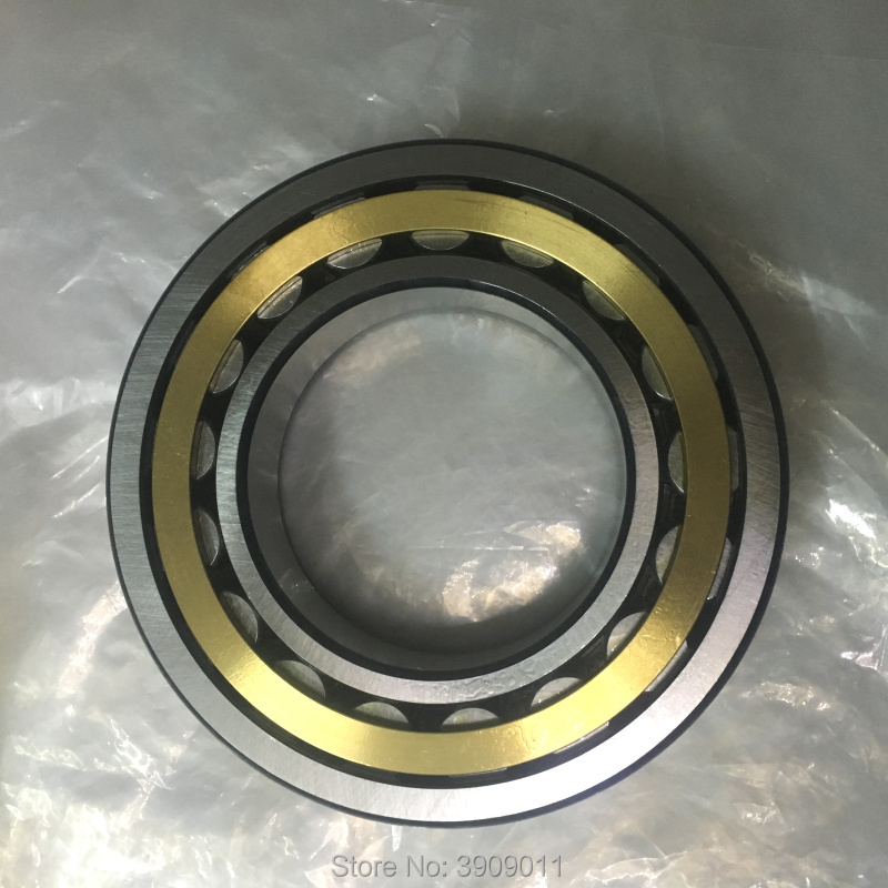 SHLNZB Bearing 1Pcs NJ220 NJ220E NJ220M NJ220EM NJ220ECM C3 100*180*34mm Brass Cage Cylindrical Roller Bearings shlnzb bearing 1pcs nu2328 nu2328e nu2328m nu2328em nu2328ecm 140 300 102mm brass cage cylindrical roller bearings