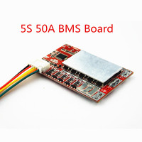 5S 50A BMS Board/ 55A 3.7V Lithium battery protection board/3.2V iron phosphate/LiFePO4 battery BMS board with Balance Battery Accessories & Charger Accessories