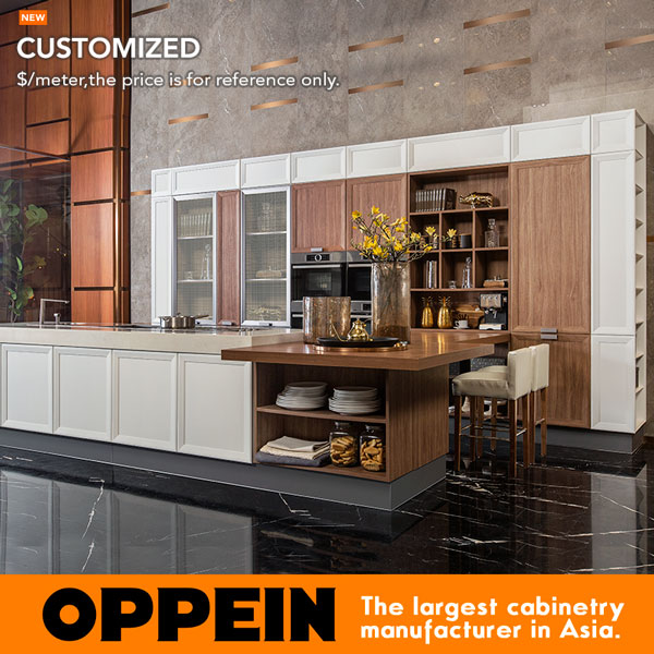Oppein Transitional Large Thermofoil Kitchen Cabinet (PLCC17058) In Kitchen  Cabinets From Home Improvement On Aliexpress.com | Alibaba Group