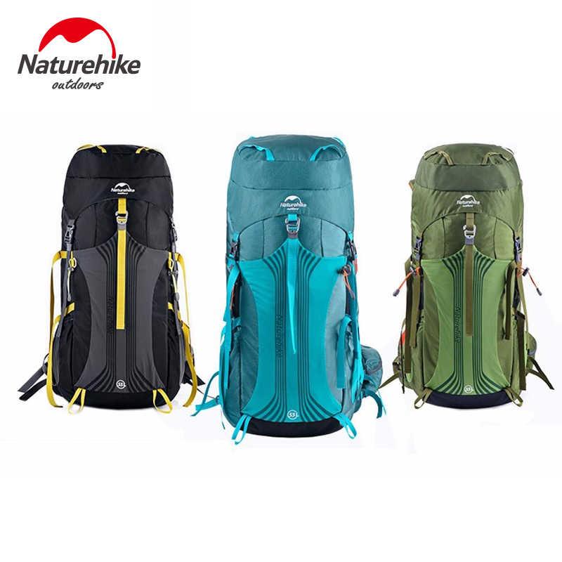 Naturehike 65L Internal Frame Hiking Backpack for Outdoor Camping Travel Backpacking Backpack for Men