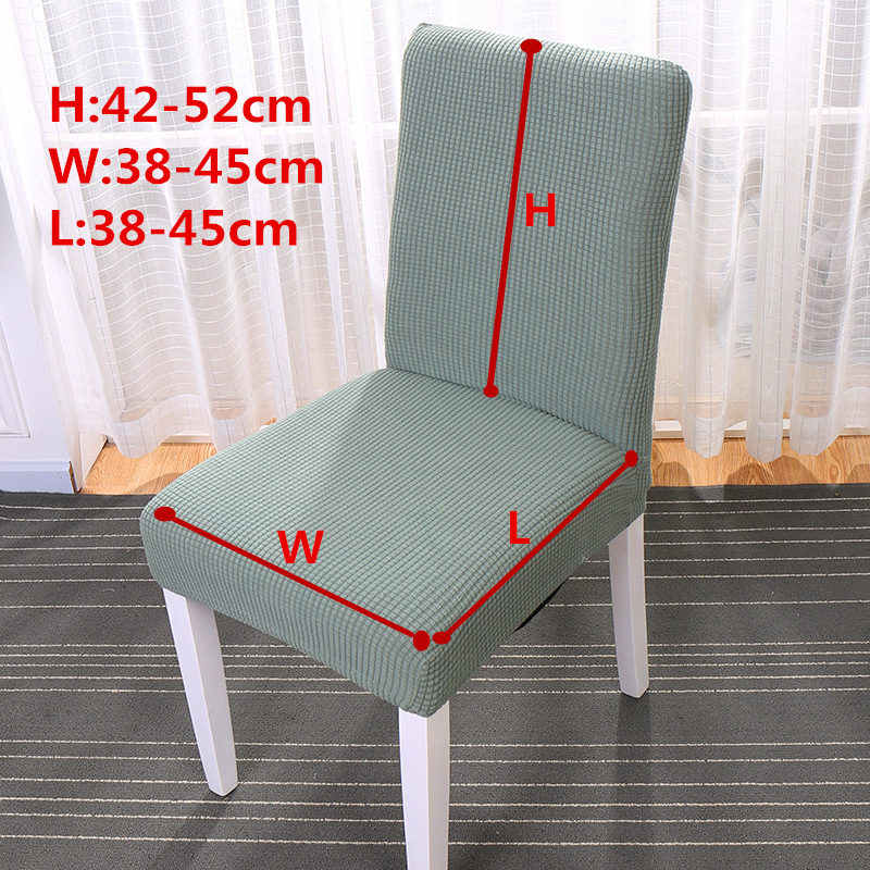 Phenomenal Simple Nordic Style Seat Chair Covers Elastic Linen Cotton Slipcover For Hotel Dining Room Quality Removable Kitchen Chair Cover Creativecarmelina Interior Chair Design Creativecarmelinacom
