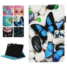 купить Magnetic Stand cover case for Huawei Mediapad M5 8.4 Butterfly Case for New Huawei Mediapad M5 SHT-AL09 SHT-W09 8.4 Tablet Case дешево