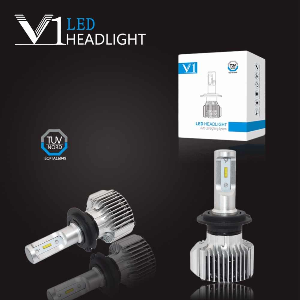 1x H4 H13 H15 9004 9007 H7 H1 H3 H11 H16 5202 9012 9005 9006 H27W 880 881 P13W PSX24W PSX26W Led Headlight Fog Light Head Bulbs