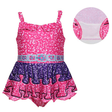 Summer Girl Dress bathing suit Christmas Halloween Party  cartoon clothing Cosplay Costume swimsuit 0393