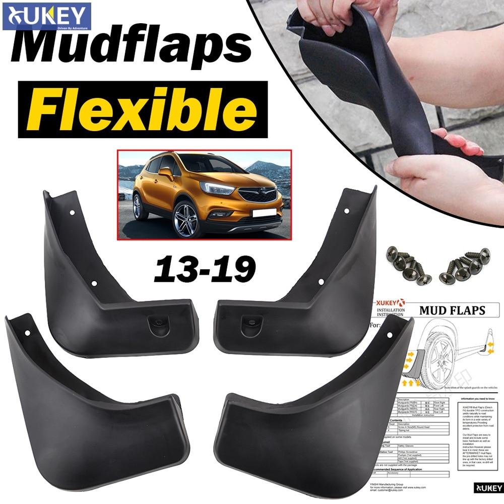 2PCS Side Wing Mirror Rain Guard Visor Shade Shield For Buick Encore Opel Mokka