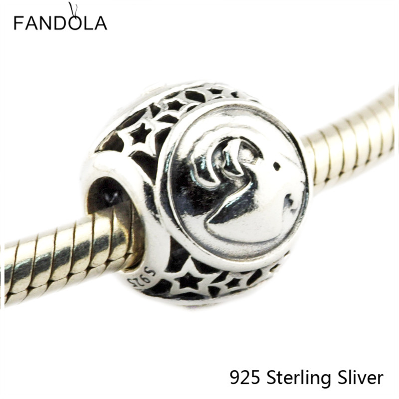 Capricorn Star Sign 925 Sterling Silver Charm Beads Fits For Pandora Bracelet Charms for DIY Fine Jewelry