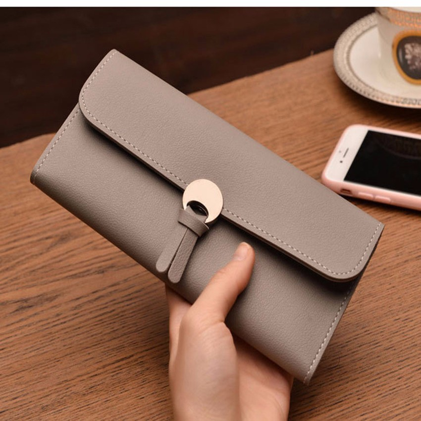 Rdgguh новый приходит 2017 Для женщин Женские Кошельки PU кожаный кошелек высокое качество Для женщин Клатчи держателей карт монета Хранитель