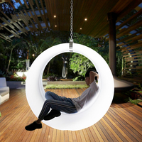 Скандинавский современный Новый Свинг подвесной ночной Светильник для двора Ночной светильник декоративный подвесной светильник луна лам